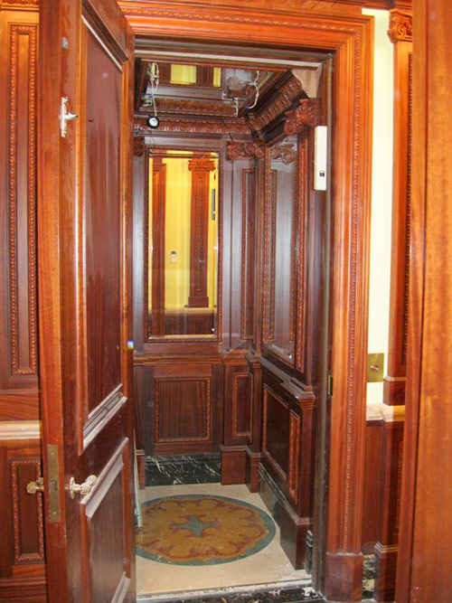 Residential elevators nyc nj for Luxury home elevators