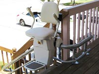 Precision Outdoor Stairlift
