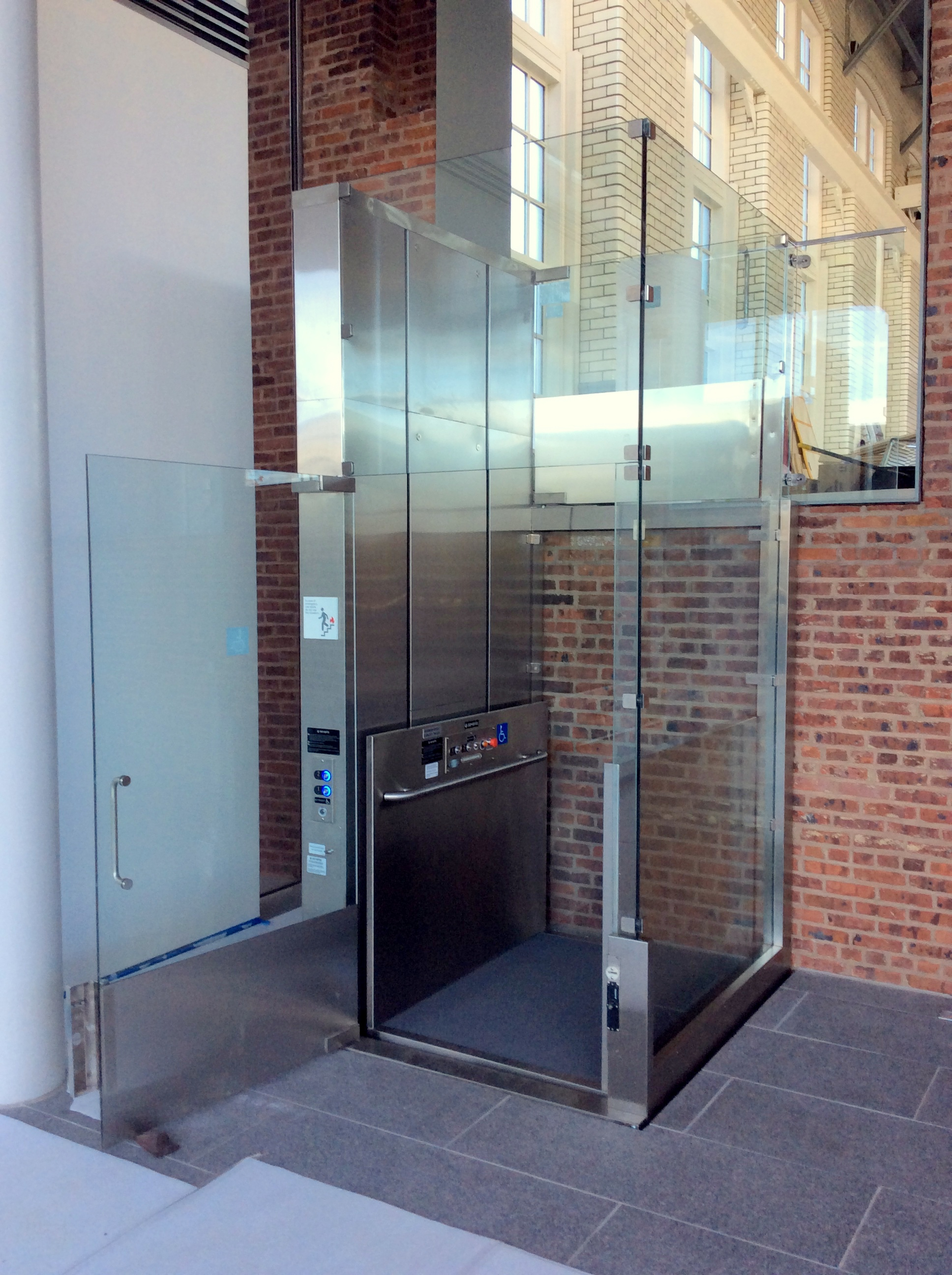 All Glass Elevator